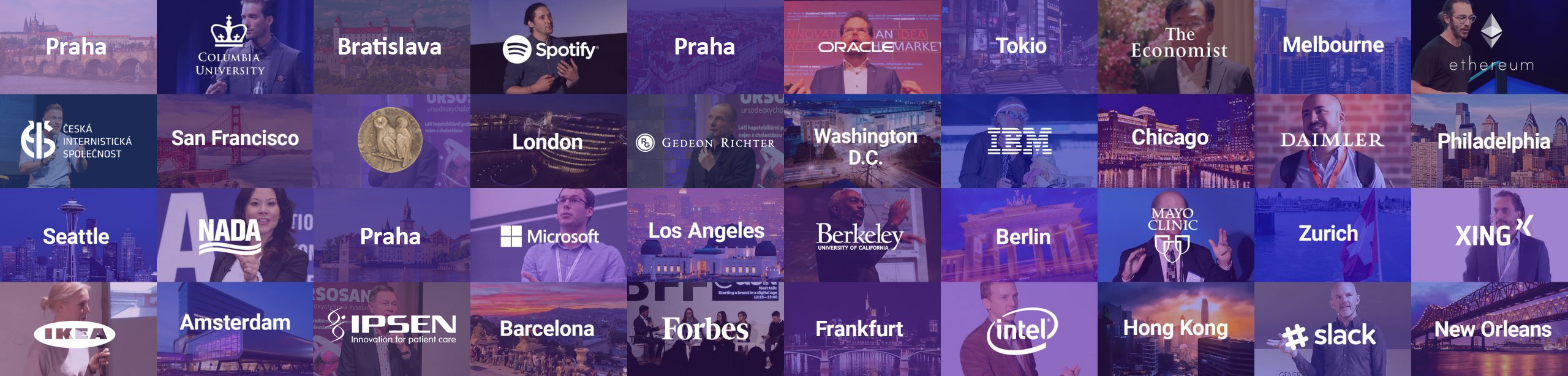 Seznam konferencí